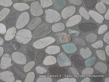 Sassi di fiume per pavimenti e pareti | SALIZZO dè COGOLI srl