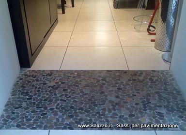 Utilizzi dei sassi negli interni salizzo dè cogoli srl