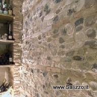 Utilizzi dei sassi negli interni salizzo d cogoli srl - Sassi per pareti interne ...