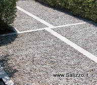 Utilizzi dei sassi negli esterni salizzo d cogoli srl - Pavimentazione esterna casa di campagna ...